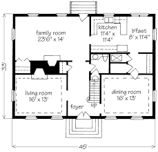 Simple Story House Plans   Smalltowndjs comSuperb Simple Story House Plans   Back Gallery For Simple Two Story House Plan