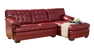 leather sofas homelegance channel tufted red bonded leather sectional sofa set furniture 13 channel tufted furniture