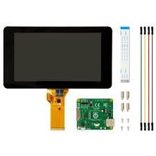 """Official Raspberry Pi <b>7</b>"""" <b>Touchscreen</b> Display – The Pi Hut"""
