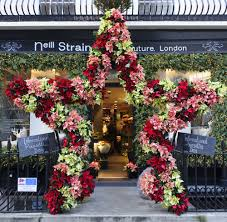 Press Event for International Poinsettia Day at Neill Strain