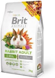 Brit <b>Animals</b> Rabbit Adult <b>Complete 3</b> kg Food for rabbits