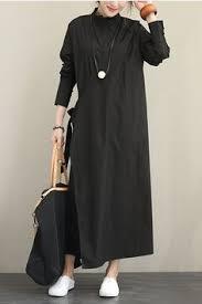 Women Elegant Loose <b>Black Wind Coat</b> Casual <b>Spring</b> Outfits ...