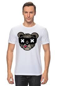 <b>Футболка классическая Crew</b> Five Cali Bear #1722290 от vphone ...
