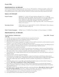 oracle dba resume sample   seangarrette cooracle