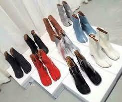 <b>Women</b> Boot Bling <b>Leather</b> Shoe Mid Block Heel Round <b>Split Toe</b> ...