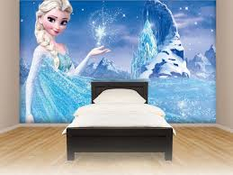 bedroom painting designs:  lovely wall painting design for bedroom with blue paint elsa new bedroom paint and decorating