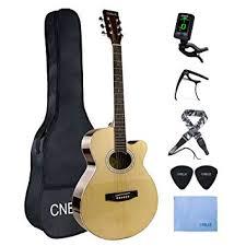<b>Acoustic</b> Guitar Starter Kits Basswood Beginner Steel String ...