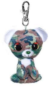 Брелок Мишка Camo, 8,5 см (серый) <b>Lumo Stars</b> - купить <b>мягкую</b> ...