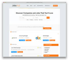 best wordpress job board themes for awesome job portal web sites jobshub is a clean modern and responsive theme to turn wordpress into a professional job listing site this theme has a front end resume and job listing