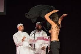 """Résultat de recherche d'images pour """"caricatures seins nues des musulmanes"""""""