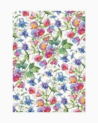 <b>Michel Design Works</b> Sweet Pea Kitchen Towel | The Paper Store