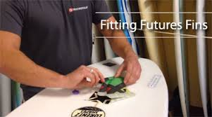 Fitting <b>Futures fins</b> into your board - Triocean Surf   Surfboards