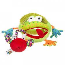 <b>Погремушка Bondibon</b> Развивающая <b>игрушка</b> Лягушка ...