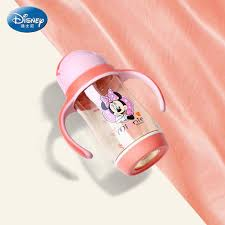<b>Disney baby learning cup</b> PPSU Non toxic tasteless material gravity ...
