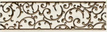 <b>Бордюр</b> Lasselsberger Анастасия Орнамент Крем <b>25х7</b>,5 1502 ...