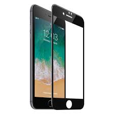 iPhone 7 / 8 / Plus screen protector «0.2mm <b>Full screen</b>» <b>tempered</b> ...