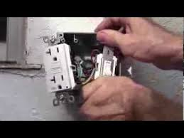 how to wire a amp gfci receptacle and a switch for exterior use how to wire a 20 amp gfci receptacle and a switch for exterior use