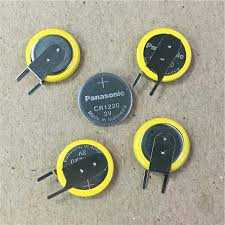 <b>4pcs</b>/<b>lot</b> Panasonic CR1220 3V Lithium Batteries Button Coin ...