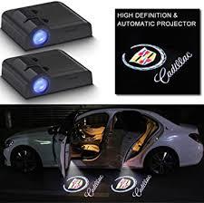 2Pcs Car LED Door Logo Lights Projector for Cadillac ... - Amazon.com