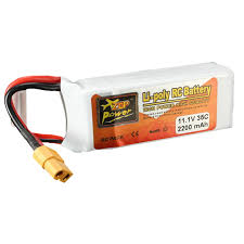 2018 <b>ZOP Power 11.1V 2200mAh</b> 3S 35C Lipo Battery XT60 Plug ...
