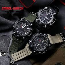 SMAEL <b>Men</b> Brand <b>Sports</b> watchs <b>Multifunction</b> Date Display ...