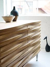 walnut finish light wood closeup detail sideboard cabinet mid century modern amazing contemporary furniture design
