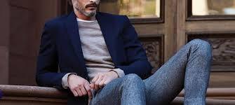Как модно сочетать разные брюки и <b>пиджаки</b>