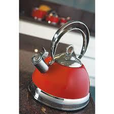 <b>Чайник</b> со свистком, 2,5 л, красный от <b>Wesco</b> (арт. 340520-02 ...