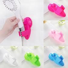 <b>Bathroom Strong Attachable Shower</b> Head Holder Movable Bracket ...