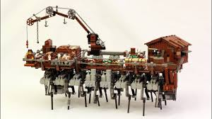 LEGO <b>Steampunk</b> Walking Ship (Strandbeest) - YouTube