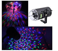 get quotations goeswell stage lighting mini rgb rotation stage light 3w strobe lighting effects crystal magic ball light cheap lighting effects