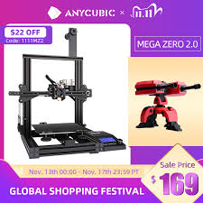 <b>ANYCUBIC Mega Zero DIY</b> 3D Printer 220X 220X250 desktop 3d ...
