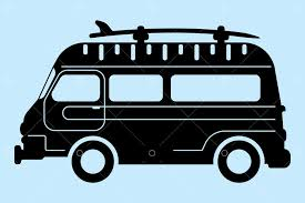 <b>Surf bus</b> silhouette Graphic Vector - Stock by Pixlr