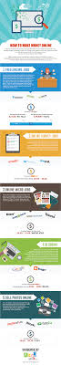 how to make money online infographic how to make money online