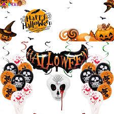 <b>Halloween</b> balloon <b>spoof</b> tidy party decoration aluminum film 【OK ...