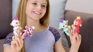 Fingerlings: How To Play With Your <b>Baby Monkeys</b>! - YouTube