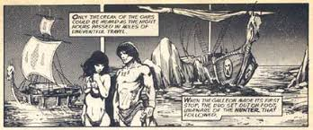 He co-created 'Alien Legion' with Carl Potts. Again with Gary Winnick, Frank Cirocco founded Lightsource Studios, where he created the comic 'Space Babe', ... - cirocco_venture1976-2