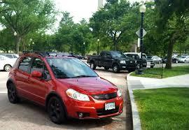 <b>Suzuki SX4</b> Hatchback Crossover Mods // <b>Thule Roof Rack</b>, Black ...