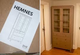 diy linen closet from box to charm big brown ikea hemnes linen
