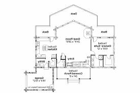 A Frame House Plans   Kodiak     Associated Designs    A Frame House Plan   Kodiak     st Floor Plan