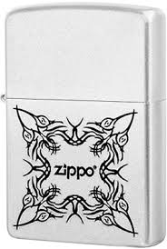 <b>205 Tattoo Design Зажигалка Zippo</b>, Satin Chrome