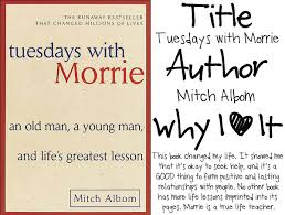 tuesdays with morrie essay topics Horizon Mechanical