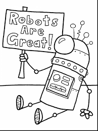 Small Picture beautiful future robot coloring pages with robot coloring page