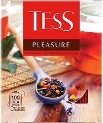 <b>Tess</b> Pleasure <b>черный чай</b> с шиповником и яблоком в пакетиках ...