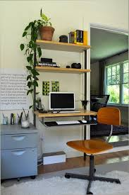 i chose the helix desk from cb2 for its openness and clean lines the chair is my desk chair from childhood cb2 office