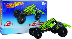 <b>Конструктор 1 Toy Hot</b> Wheels ''Cross'' (101 деталь) Т15401 ...