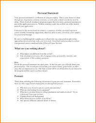 personal statement samples for residency case statement  10 personal statement samples for residency