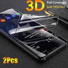 21D <b>Silicone</b> Front Soft <b>TPU Hydrogel Sticker</b> Film For LG G5 G6 G7 ...