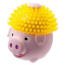 Игрушка для животных Zoo One <b>Свинка в шапке</b>, L-425, 11 см