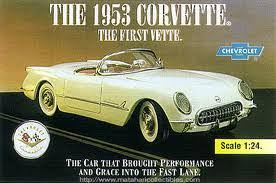 「On June 28, 1953, the first Corvette, which went on to become an iconic American sports car, is assembled at a Chevrolet plant in Flint, Michigan.」の画像検索結果